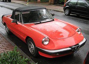 "Alfa Romeo Spider - Spider ""Aerodinamica"""