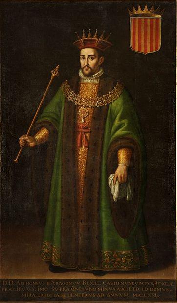 Archivo: Alfonso II de Aragón.jpg