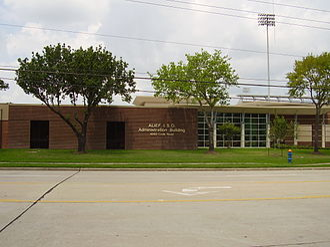 Alief, Houston - Alief Independent School District headquarters