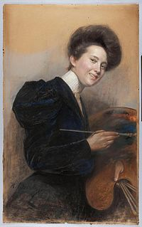 Alina Bondy-Glassowa - Autoportret.jpg