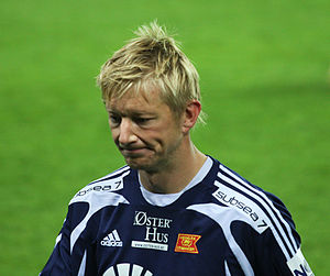 Allan Gaarde - Gaarde playing for Viking.