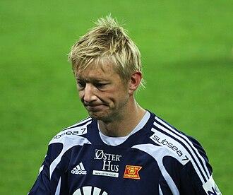 Allan Gaarde - Gaarde playing for Viking.