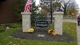Westgate, Columbus, Ohio - Westgate Neighborhood Entrance