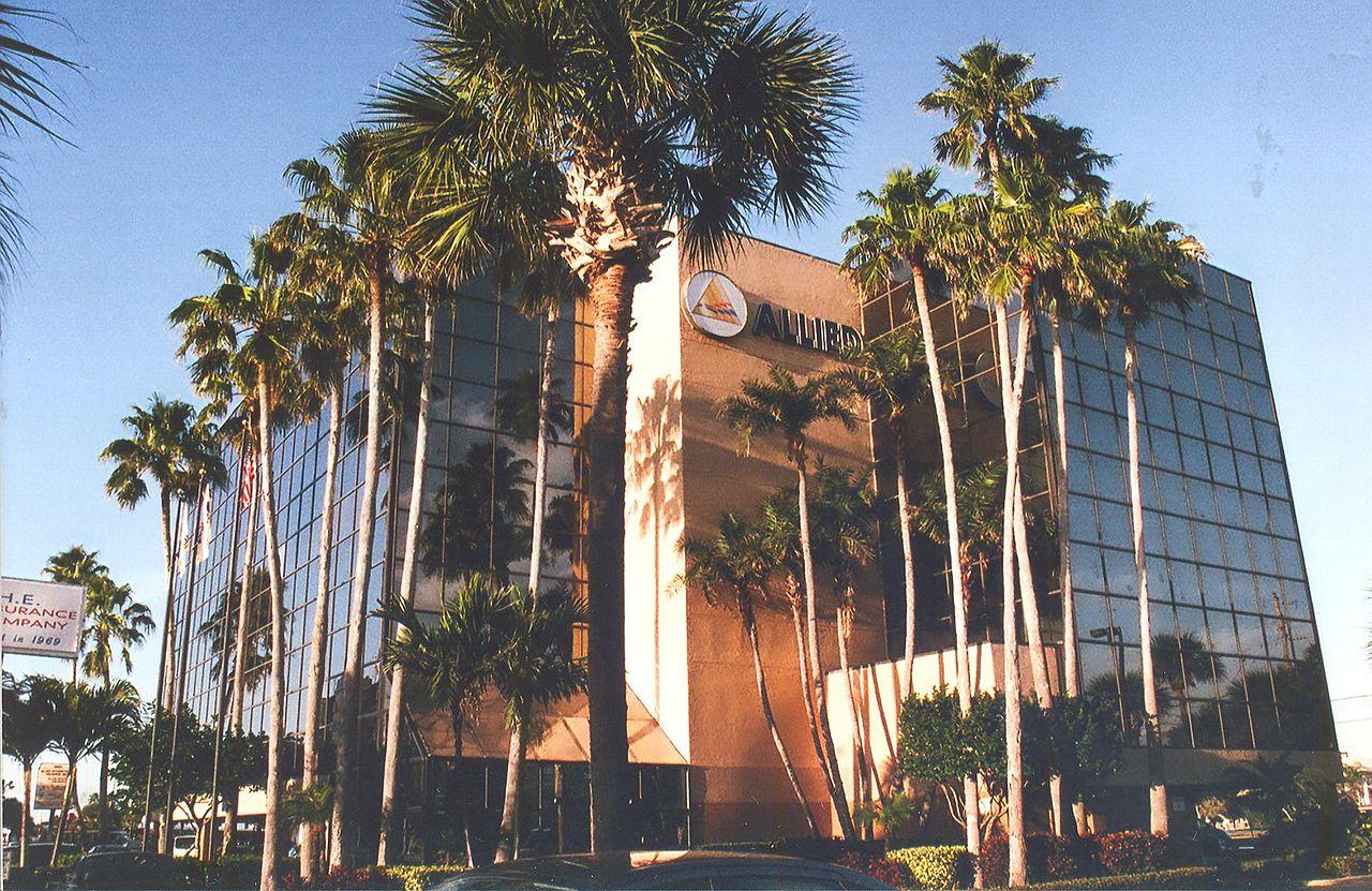 File Allied Insurance Building On Treasure Island Florida