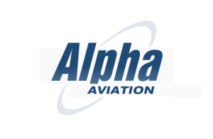Boundary Bay Airport - Alpha Aviation Logo