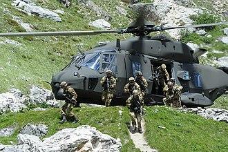 7th Alpini Regiment - Alpini of the 7th Alpini during the Falzarego 2011 exercise