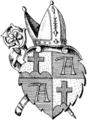 Alpirsbach (Kloster) Wappen sw.png