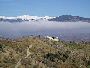 Mulhacén - Image: Alpujarras Uitzicht