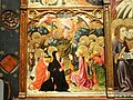Altarpiece with Scenes from the Life of the Virgin (detail), Gonzalo Perez workshop, Aragon Spain, early 15th century - Nelson-Atkins Museum of Art - DSC08355.JPG