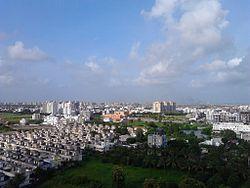 Stadtbild von Surat
