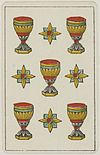 Aluette card deck - Grimaud - 1858-1890 - Five of Cups.jpg