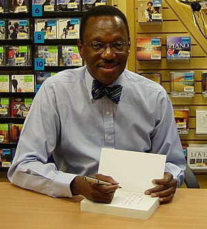 Alvin Hall - Hall at a book signing