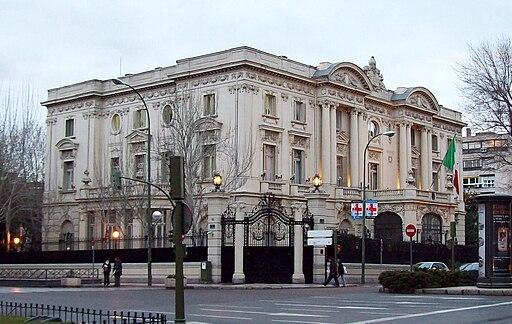 Palacio de Amboage (Embajada de Italia)