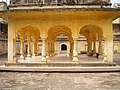 Amber Fort - Baradhari pavlion at Man Singh Palace Square.jpg