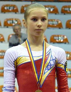 Amelia Racea Romanian artistic gymnast
