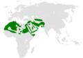 Ammomanes deserti distribution map.png