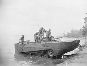 Type 2 Ka-Mi - A Type 2 Ka-Mi being tested by Australian soldiers in 1945