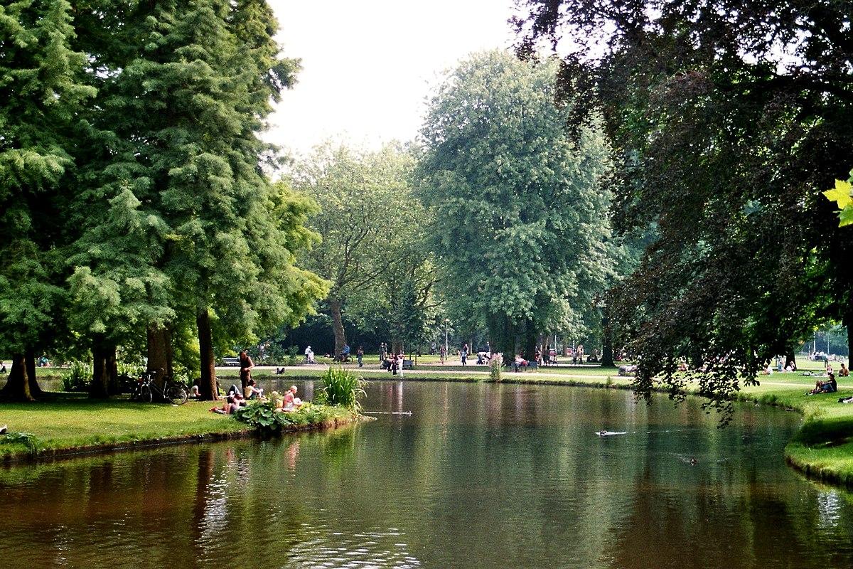 vondelpark amsterdam pond file wikipedia things commons wikimedia pixels