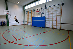 Gym - Inside a gymnasium in Amsterdam