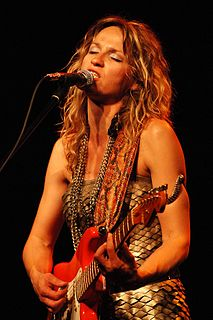 Ana Popović Serbian blues guitarist and singer