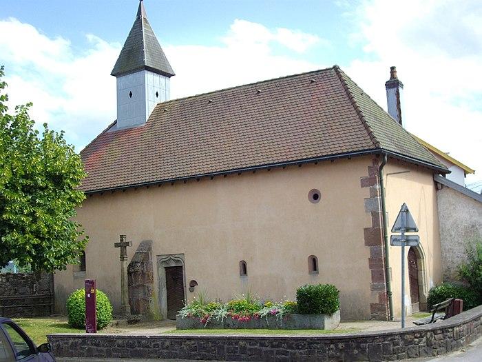 Chapelle de la madeleine monument historique for Piscine de remiremont