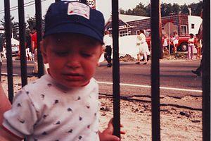 Ancient and Horribles Parade - child at Ancient and Horribles Parade in 1984