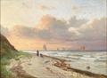 Anders Andersen-Lundby - Sejlskibe ud for Nordsjællands kyst - 1874.png