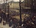 André Devambez - L'Escorte du président Wilson, place Saint-Augustin - P2297 - Musée Carnavalet.jpg