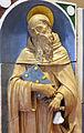 Andrea della robbia, madonna col bambino tra i ss. sebastiano e antonio abate (collez. rita d'annunzio lombardi) 04,1.JPG