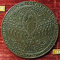 Andrea guacialotti, medaglia di paolo II, verso con cristo in gloria.JPG