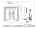 Andrew Vosburg House, 302 East Church Street, Lock Haven, Clinton County, PA HABS PA,18-LOKHA,2- (sheet 10 of 10).png