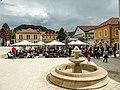 Andricgrad main square.jpg