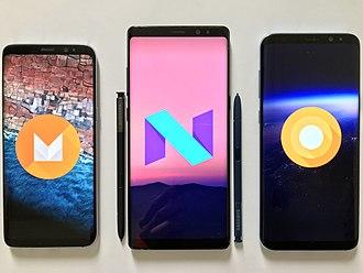 Samsung Electronics - Samsung Galaxy smartphones