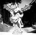 Angel (lesena plastika), izdelal Jože Tome (cca. 1890), Goričica 1948.jpg