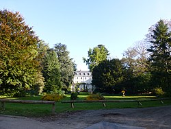 Prefecture gardens of the Maine-et-Loire department, in Angers