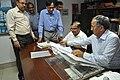 Anil Shrikrishna Manekar Taking Over Charge Of Director General From Ganga Singh Rautela - NCSM - Kolkata 2016-02-29 1797.JPG