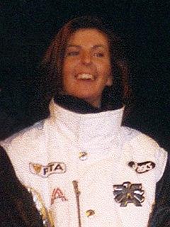 Anita Wachter Austrian alpine skier
