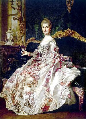 Anne-Catherine de Ligniville, Madame Helvétius -  Anne-Catherine de Ligniville Helvétius