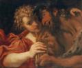 Annibale Carracci, Marsia e Olimpo.png
