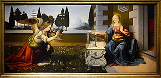 Annunciation (Leonardo) image