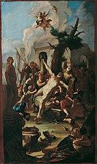 Die Marter des heiligen Cassian