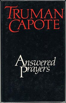 Image result for truman capote answered prayers""
