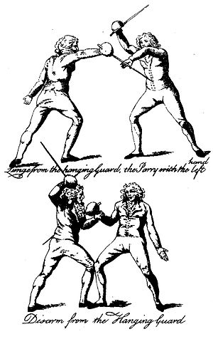Historical fencing in Scotland - Image: Anti Pugilism Anonymous (Captain G. Sinclair, 1790), Plate 2