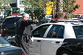 Anti-Scientology protest - Los Angeles - police-sv.jpg
