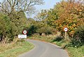 Approaching Hunningham on the lane from Offchurch - geograph.org.uk - 1535753.jpg