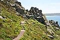 Approaching a granite 'buttress' - geograph.org.uk - 497894.jpg
