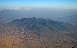 Ara Mountain from aircraft - July 2020.jpg