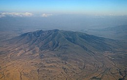 Ara Mountain from aircraft - July 2020.jpg