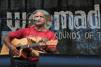 Archie Roach - Roach performing at WOMADelaide in 2011.