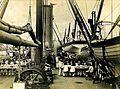 Archivo General de la Nación Argentina 1890 aprox, Fragata Presidente Sarmiento, primer Buque Escuela, Cadetes navales a bordo.jpg